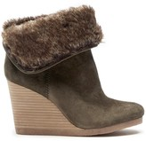 Sole Society Torynn winter wedge bootie