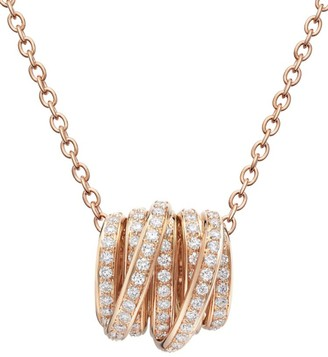 de Grisogono Allegra 18K Pink Gold & Diamond Necklace