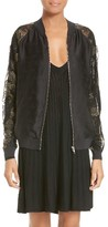 Opening Ceremony Women's Gestures Lace Bomber Jacket
