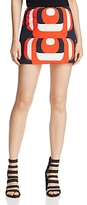 Milly Amphora Mini Skirt