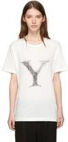 Yohji Yamamoto White y T-shirt