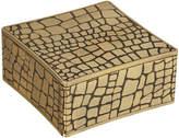 L'OBJET Crocodile Square Gold Box