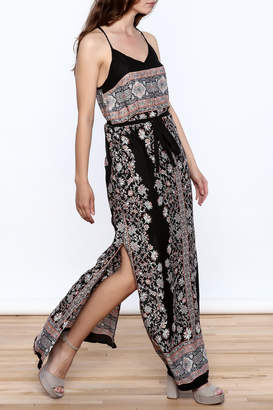 Andree Black Maxi Dress