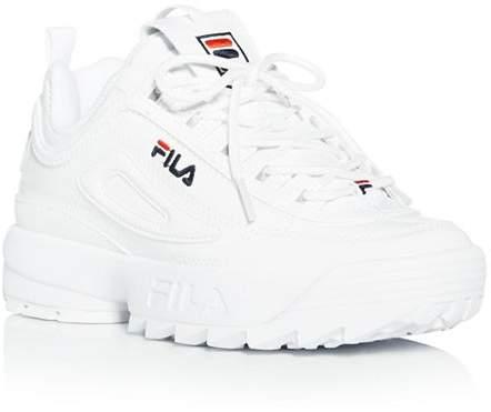 a816ee7ce1d Fila White Women's Sneakers - ShopStyle