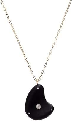 Cvc Stones 18kt yellow gold diamond Lunare necklace