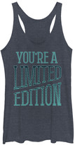 Chin Up Apparel Women's Tank Tops NAVY - Heather Navy 'Limited Edition' Tank - Women