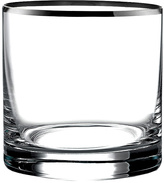 Jay Import Silver Michel Old-Fashioned Glasses - Set of Four
