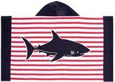 Pottery Barn Kids Breton Stripe Shark Beach Wrap