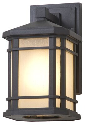 Millwood Pines Lybarger 1-Light Outdoor Wall Sconce Millwood Pines