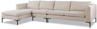 Jennifer Taylor Weylyn Laf Chaise Sectional Sofa