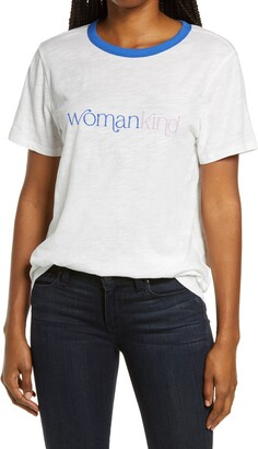 ban.do Womankind Graphic Ringer Tee