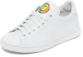 Joshua Sanders Rainbow Smile Sneakers