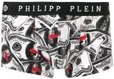 Philipp Plein dollar print boxers