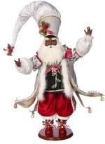 Mark Roberts Candy Shop Genuine Mink Fur Santa