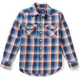 Ralph Lauren Big Boys 8-20 Plaid Twill Workshirt
