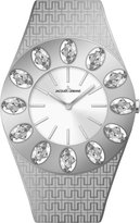 Jacques Lemans Women's Vedette Swarovski Crystal 1-1458A Stainless Steel