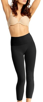 Me Moi SlimMe High Waisted Shaping Crop Leggings