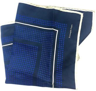 Ermenegildo Zegna Multicolour Cotton Scarves & pocket squares
