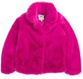 Milly Minis Faux Fur Jacket (Toddler Girls, Little Girls & Big Girls)