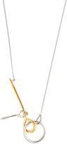 Balenciaga Tools gold and palladium-plated necklace