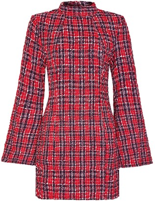 Hasanova Red Tweed Dress