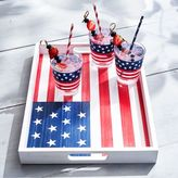 Sur La Table Stars and Stripes Serving Tray