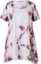House of Fraser Chesca Printed Linen Tunic