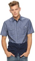 Rock & Republic Men's Colorblock Button-Down Shirt