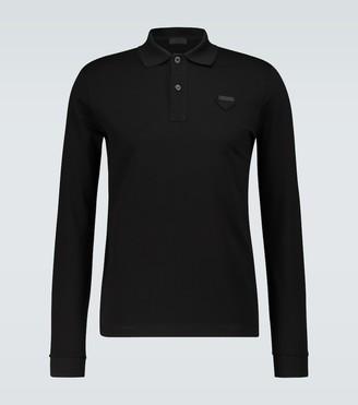 Prada Long-sleeved polo shirt