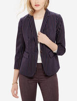 The Limited Striped One Button Jacket
