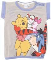 Disney Girl's Casual Round Collar Short sleeve T-Shirt - Multicoloured - -