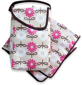 JJ Cole Diaper and Wipes Pod - Pink Daisy