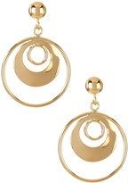 Candela 14K Yellow Gold Multi-Circle Earrings