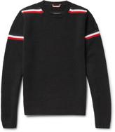 Moncler - Striped Intarsia Wool Sweater