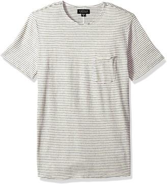 Velvet by Graham & Spencer Men CID Striped Short Sleeve Tee