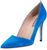 Sarah Jessica Parker Rampling Suede Pointed Pump