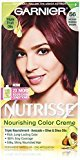 Garnier Nutrisse Nourishing Color Creme, 56 Medium Reddish Brown (Sangria), 3-Pack (Packaging May Vary)