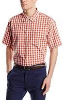 Dockers Laundered Poplin Regular Fit Short Sleeve Casual Shirt
