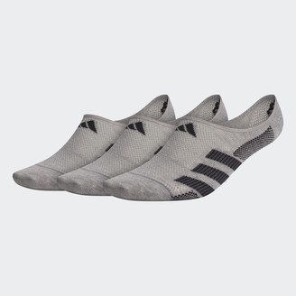 adidas Superlite Stripe 2 Super-No-Show Socks 3 Pairs