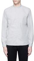 Nanamica Band collar taffeta wind shirt