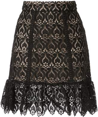 We Are Kindred Romily lace mini skirt