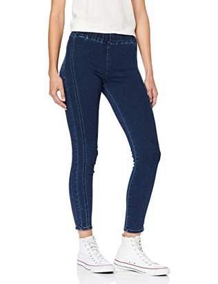 Cross Jeanswear Co. Cross Jeans Women's Jaycie Trouser, (Dark Blue 011), 10 (Size: )