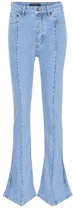 Y/Project High-rise stretch-denim jeans