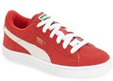 Puma Boy's Suede Sneaker