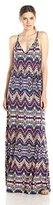Ella Moss Women's Souk Printed Jersey Maxi Dress