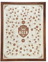 The Magnificent Multitude of Beer Wood Engraving