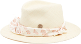 Maison Michel Lucky Dart In My Heart straw hat