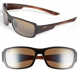 Maui Jim Men's 'Forest - Polarizedplus2' 60Mm Sunglasses - Rootbeer Fade