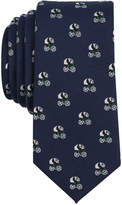 Bar III Men's Panda Conversational Skinny Tie, Created for Macy's