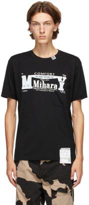 Miharayasuhiro Black Logo T-Shirt